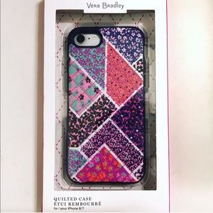 🏵Vera Bradley Quilted iPhone 8/7 Case NWT🏵